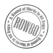 ROW80 Badge
