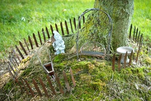 gnome garden tree