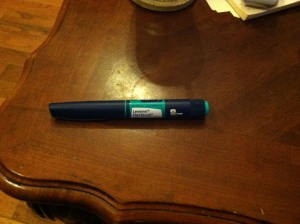 The Dreaded Insulin Pen